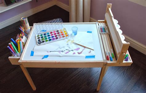 Diy Kid Craft Table