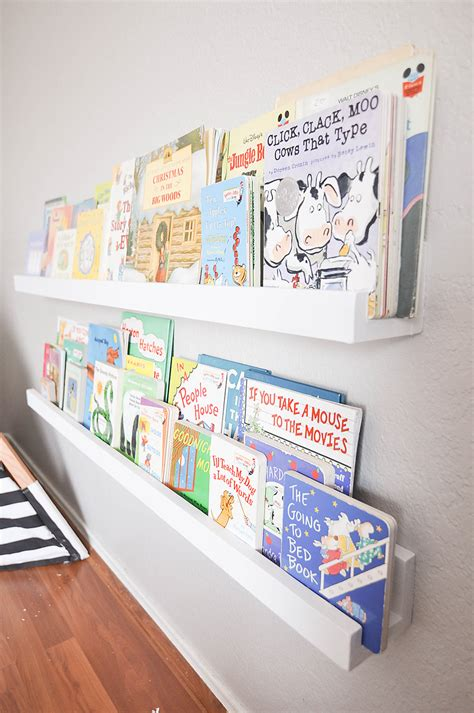 Diy Kids Bookshelves On Wall