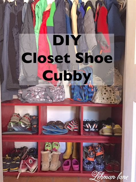 Diy Kids Closet Cubbies
