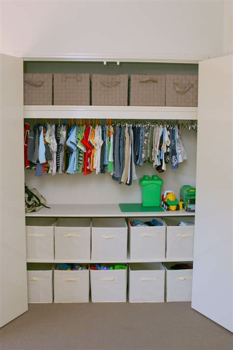Diy Kids Closet Organization Ideas For Toys