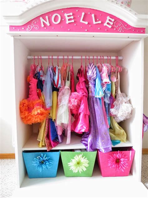 Diy Kids Dress Up Storage