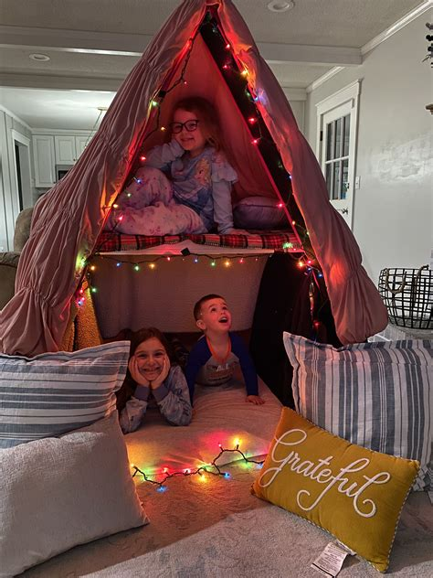 Diy Kids Fort Plans Indoor