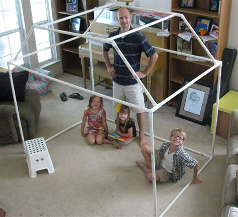 Diy Kids Fort With Pvc Pipe