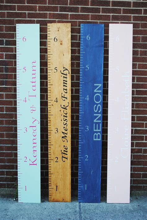 Diy Kids Growth Chart Themes