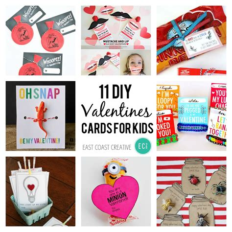 Diy Kids Homemade Valentines Cards