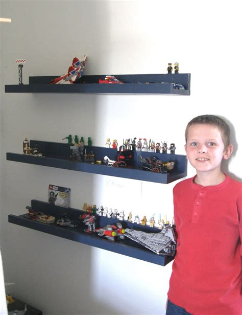 Diy Kids Lego Display Shelves