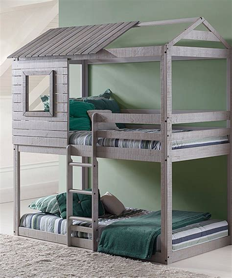 Diy Kids Loft Bed That Looks Like Deer Stand