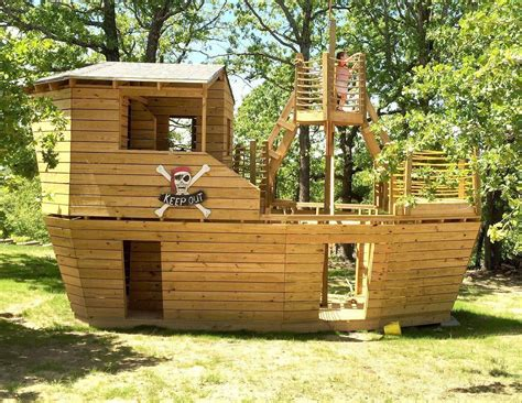 Diy Kids Outdoor Playhouse Plans