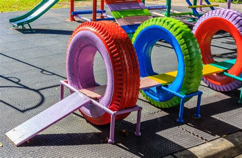 Diy Kids Playground Using Recycled Materials