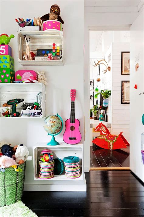 Diy Kids Storage Shelves