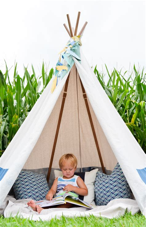 Diy Kids Teepee Easy
