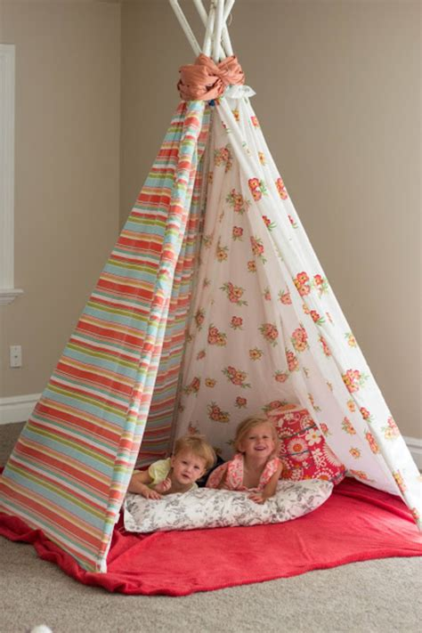 Diy Kids Teepee Pinterest