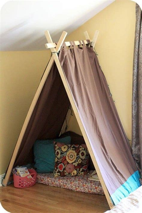 Diy Kids Tent With Curtains