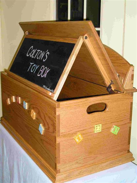 Diy Kids Toy Box Plans