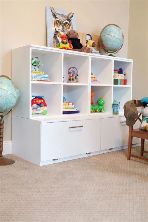 Diy Kids Toy Shelf