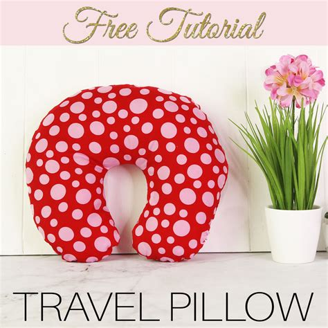 Diy Kids Travel Neck Pillow