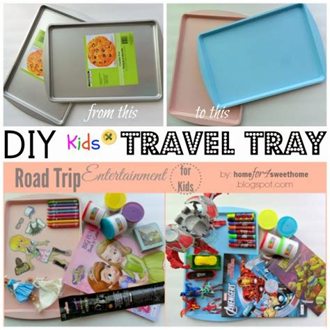 Diy Kids Travel Tray