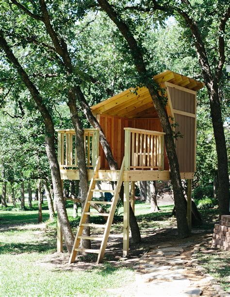 Diy Kids Treehouse