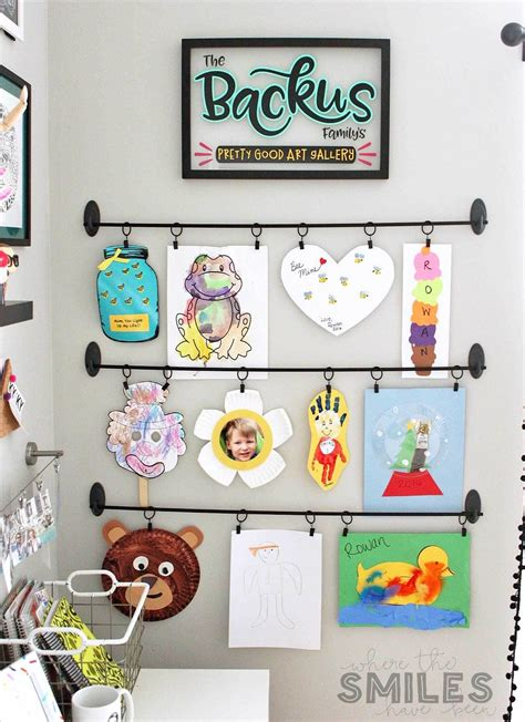 Diy Kids Wall Art Display