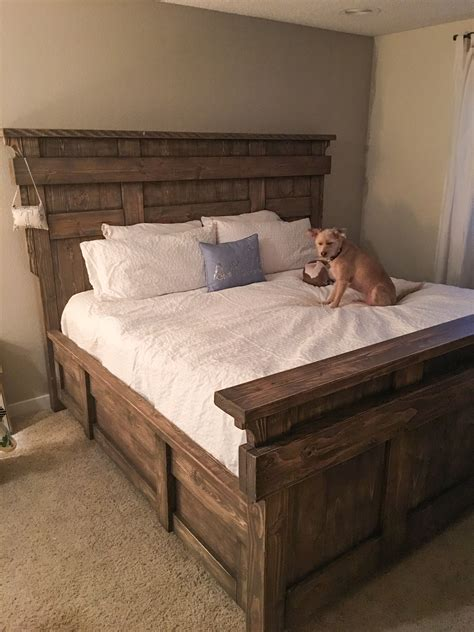 Diy King Bed Frame Using Free Stuff