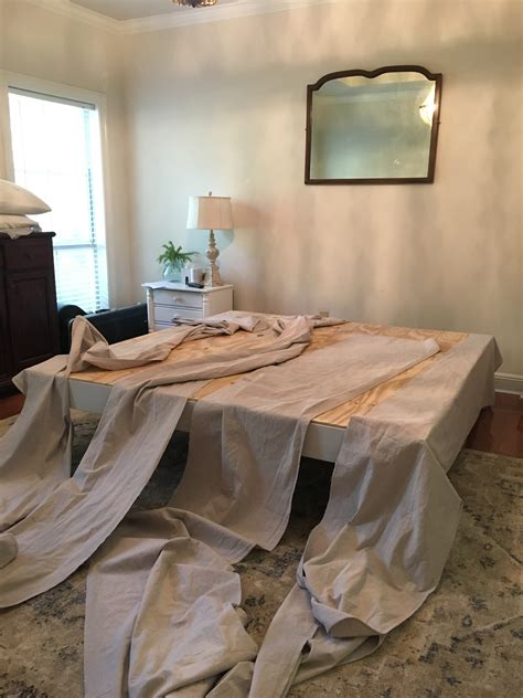 Diy King Bed Skirt