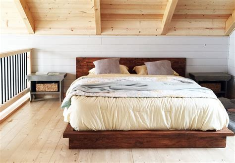 Diy King Platform Bed Ana White Loft