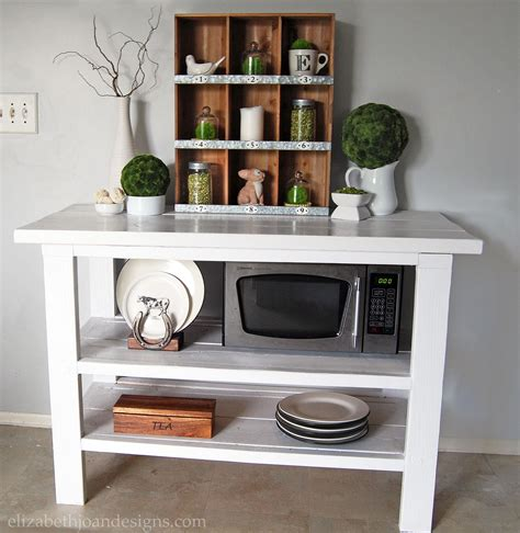 Diy Kitchen Buffet Table