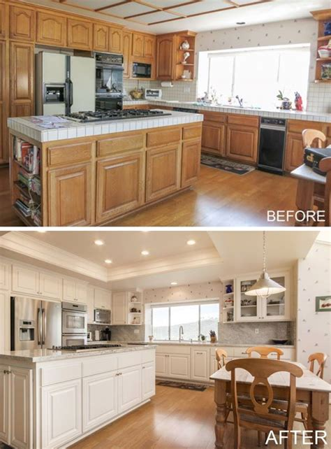 Diy Kitchen Cabinet Before And After Pictures