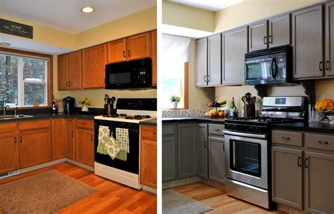 Diy Kitchen Cabinets Before And After