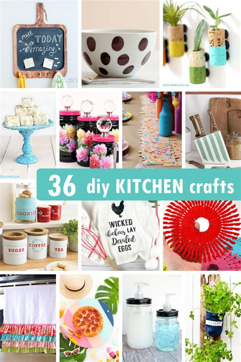 Diy Kitchen Crafts