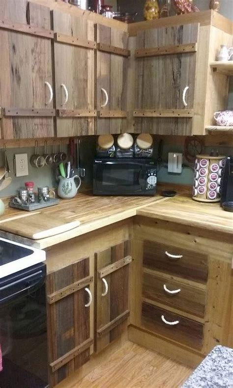 Diy Kitchen Cupboards From Pallets