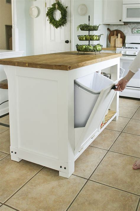 Diy Kitchen Garbage Storage