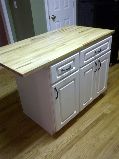 Diy Kitchen Island From Old Cabinets