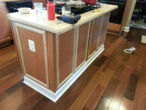 Diy Kitchen Island Wood Trim