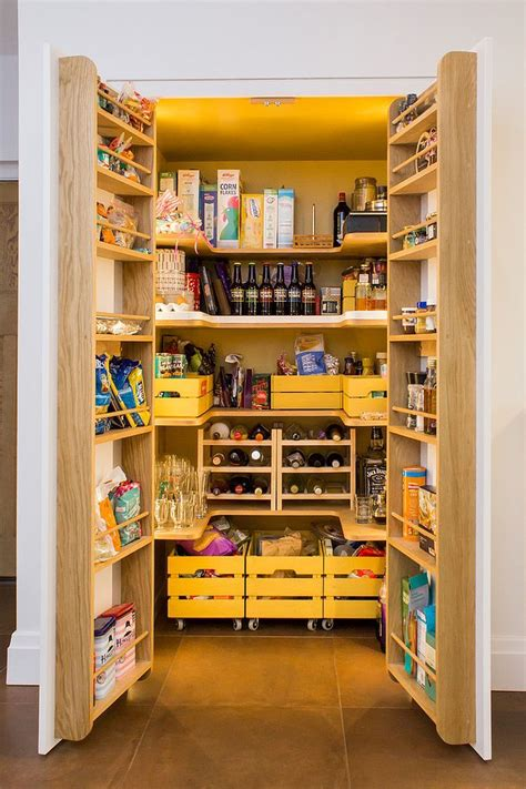 Diy Kitchen Pantry With Wheels