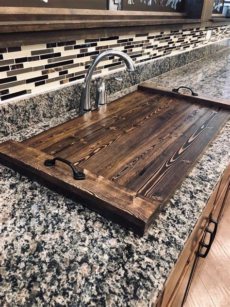 Diy Kitchen Sink Cover