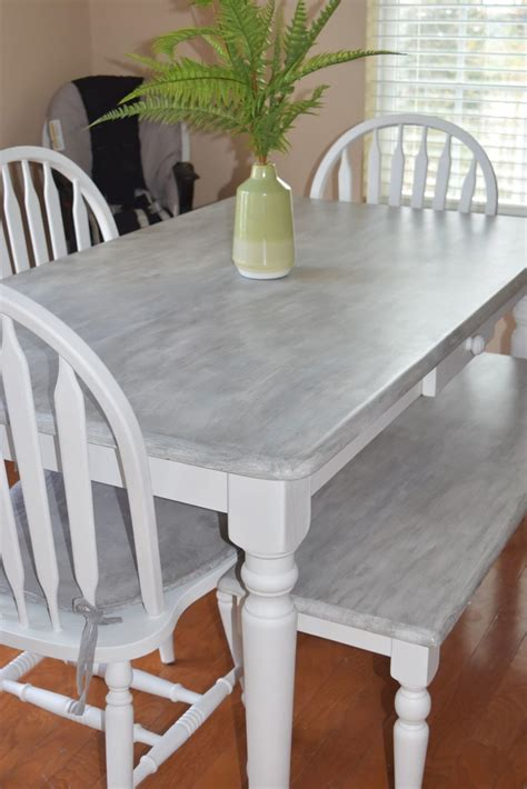 Diy Kitchen Table Makeover With Wood