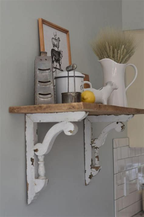 Diy Kitchen Wall Shelves Farmhouse Style