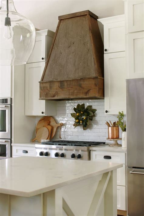 Diy Kitchen Wood Vent Hood