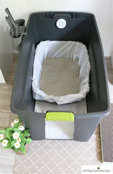 Diy Kitty Litter Box Cover