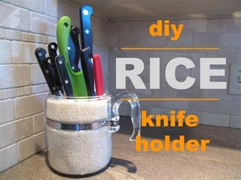 Diy Knife Holder Rice