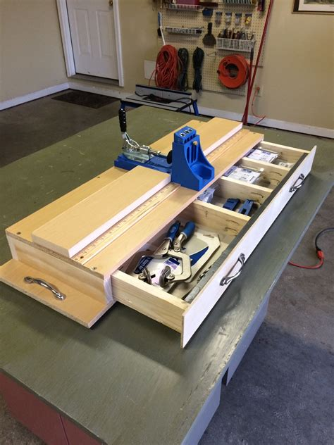 Diy Kreg Jig Station