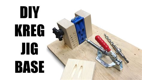 Diy Kreg Pocket Hole Jig Base
