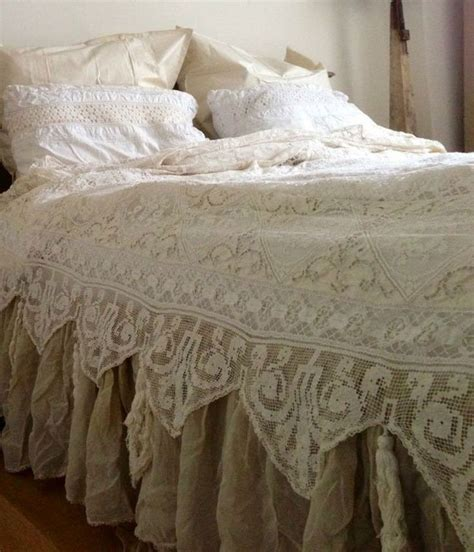 Diy Lace And Bed Sheets Bedspreads