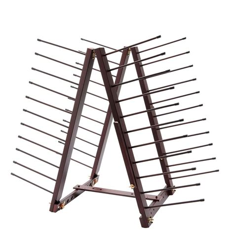 Diy Ladder Storage Rack For Drying Paintings