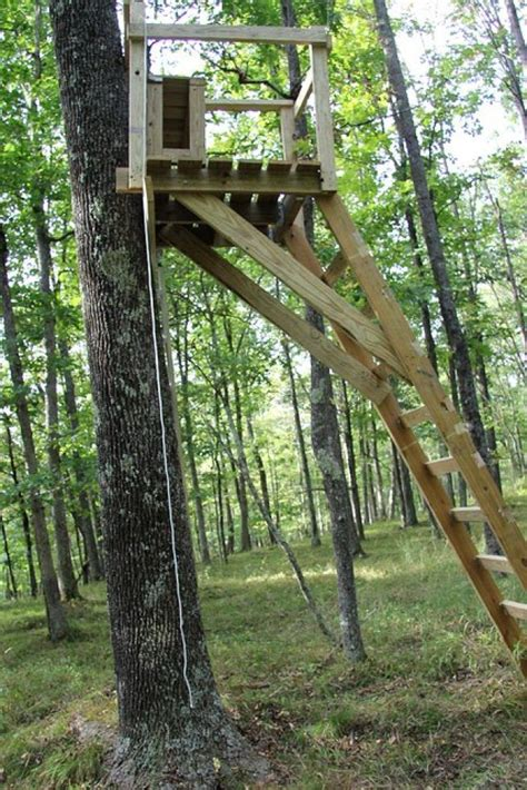 Diy Ladder Tree Stand Plans