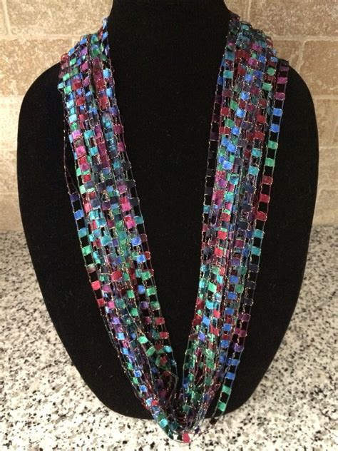 Diy Ladder Yarn Necklace