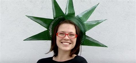 Diy Lady Liberty Crown