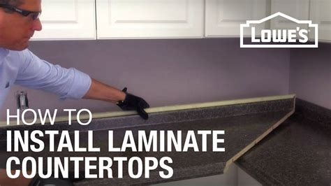 Diy Laminate Countertop Installation