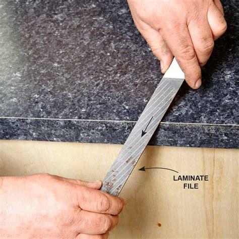 Diy Laminate Sheet Countertops Installation